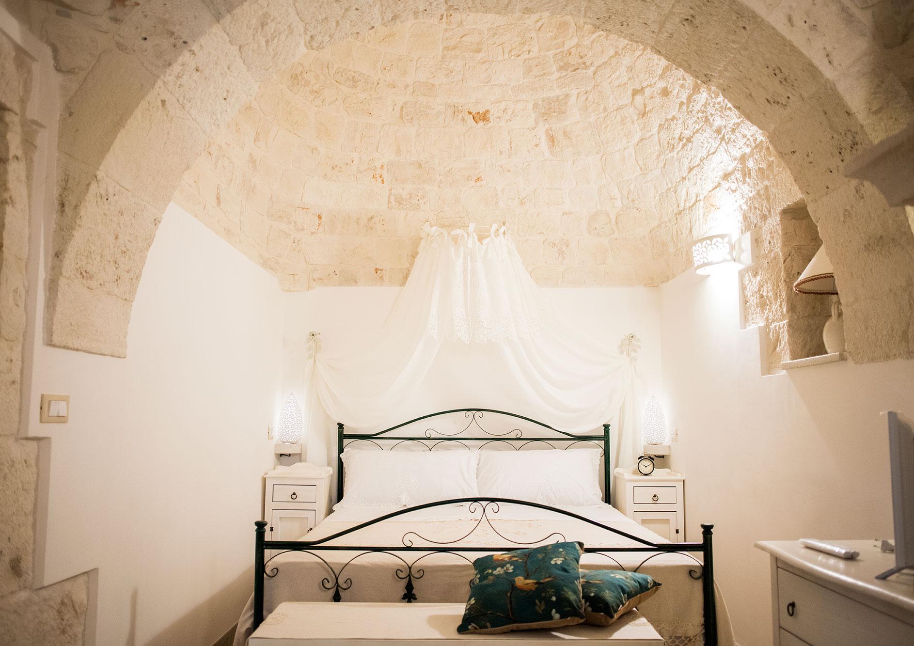 Dormire in Trullo Puglia Casa Vacanze Il carpino